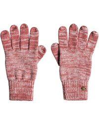 Roxy Gants tactiles - - ONE SIZE - Rose