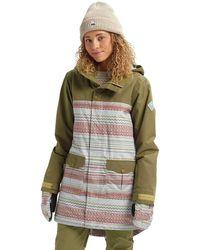 Burton Snowboard Jacke Gore-Tex Eyris Jacket - Grün