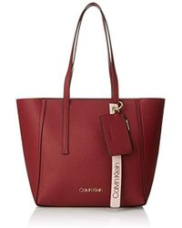 Calvin Klein - Ck Base Medium Shopper Shoulder Bag - Lyst