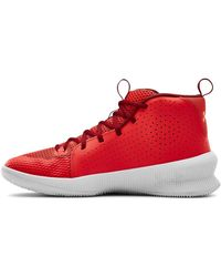 Under Armour - Jet, Chaussure de basketball , Versa Rouge/Blanc/Beta - Lyst