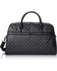 Guess 4g Sport Duffle Bag 's Shoulder Bag - Black