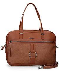Pepe Jeans Daphne Messenger Bag, 41 Cm, Brown (brown) - 7746365
