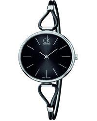 Calvin Klein - Orologio Analogico Quarzo Donna con Cinturino in Acciaio Inox K3V231C1 - Lyst