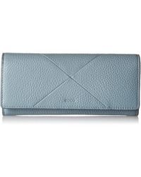 Ecco Linnea Continental Wallet - Blue