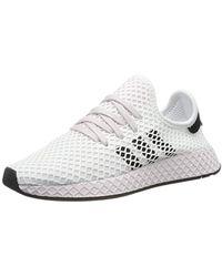adidas Deerupt Runner W, Chaussures de Running - Blanc