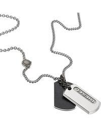 DIESEL Accessori Uomo acciaio inossidabile - Metallizzato