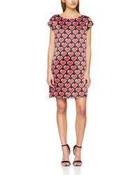 Love Moschino - Kleid, Vestito Donna, Multicolore (Black + Pixel Heart 0003), 40 (Taglia Produttore: 38) - Lyst