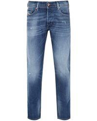 """DIESEL Carrot Fit Jeans - 32"""" Waist / 30"""" - Blue"""