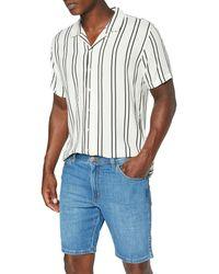 Wrangler Texas Shorts Short in Denim - Blu