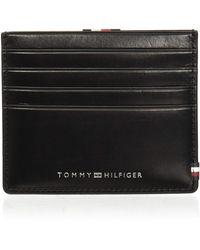 Tommy Hilfiger - Slide CC Holder Black - Lyst