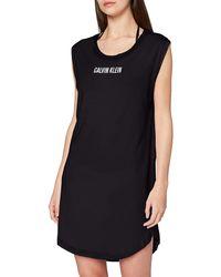 Calvin Klein Dress Strandkleid - Schwarz