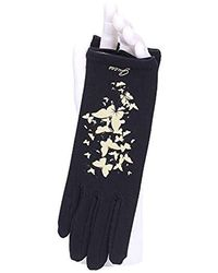 Guess Aw8032cot02 Gloves Black
