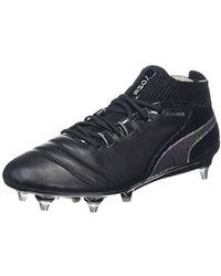 afbcbbb2c7f PUMA One 17.4 Tt Football Boots in Black for Men - Lyst