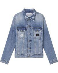 Calvin Klein Classic 90s Jacket - Blue
