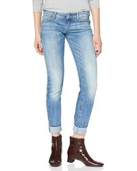 G-Star RAW - 3301 Deconstructed Low Waist Skinny Vaqueros para Mujer - Lyst