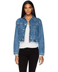 Hudson Jeans - Garrison Cropped Jacket - Lyst