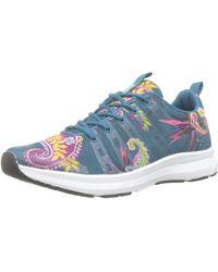 Desigual Runner Sneaker - Blau