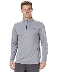 The North Face Ski Underwear Versitas 1/4 Zip Tech Tee Ls - Grey