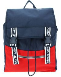 Tommy Hilfiger - TJM Logo Tape Convertible Backpack Corporate - Lyst