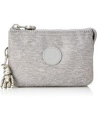 Kipling Creativity S - Portamonete, Grigio (Chalk Grey), 14.5 x 9.5 x 5 cm
