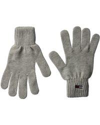 Tommy Hilfiger Tjw Basic Flag Rib Gloves, - Grey