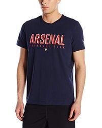 PUMA - Arsenal Fan Tee - Lyst