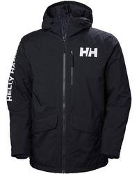 Helly Hansen Active Fall 2.0 Men's Waterproof Parka Jacket - Blue