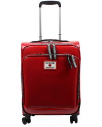 Love Moschino Hand Travel Bag Trolley Jc5100 Pu Red Synthetic
