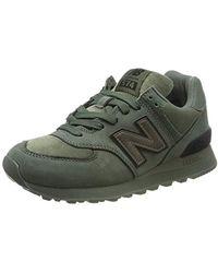 New Balance 574v2, Zapatillas para Mujer - Verde
