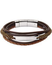 Fossil Armbänder - Braun