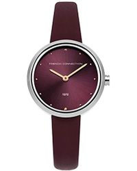 French Connection S Analogue Classic Quartz Watch With Stainless Steel Strap Fc1303wrgm