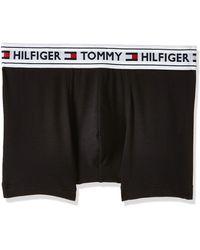 Tommy Hilfiger Herren Unterwäsche Boxershort Trunk Gr M Weiß UM0UM01646-100