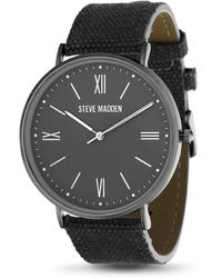 Steve Madden Dress Watch Smw432bk - Black