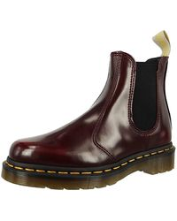 Dr. Martens »Flora Chelsea Boots« - Rot