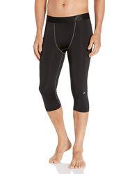 Amazon Essentials Control Tech 3/4 Tight Pantalon - Noir