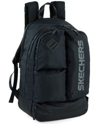 Skechers Casual Backpack Laptop Compartment Inside. Perfect For Everyday Usage. Practical - Black