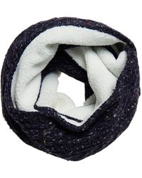Superdry Gracie Cable Snood - Blue