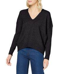 Superdry - Isabella Slouch Vee Pull - Lyst
