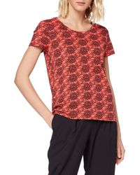 Scotch & Soda - Printed Boxy Fit Tee T-Shirt - Lyst
