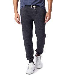 Alternative Apparel Fleece Dodgeball Pant - Black