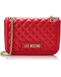 Love Moschino - Quilted Nappa Pu - Lyst