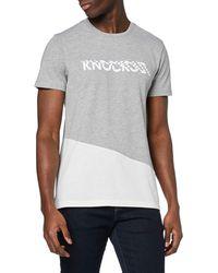 FIND T-Shirt Imprimé Knockout - Gris