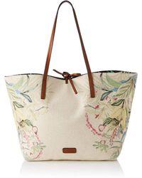 Desigual - Fabric Shopping Bag - Lyst