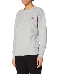 Superdry Sportstyle Crew Chandail - Gris