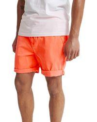 Superdry Sunscorched Chino Short Pantalones Cortos - Azul