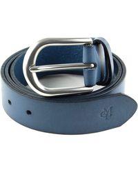 Marc O/'Polo Belt W85 Gürtel Accessoire Night Blue Blau Neu