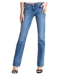 buy popular be62c b2afa Sexy Jeans Straight Donna - Blu
