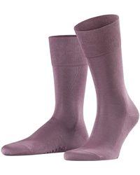 Falke Herren Socken Tiago, 95% Baumwolle, 1 Paar, Beige (Kamelhaar 4243), Größe: 45-46 - Blau