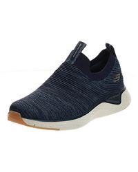 Skechers Solar Fuse Slip On Sneaker - Blau