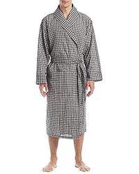 Lyst - Izod Comfort Fleece Shawl Collar Robe fee9eabdc